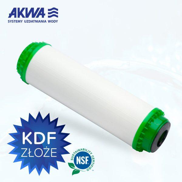 10 calowy wkład do filtra wody węglowy z łupin orzecha kokosowego sypki, KDF, filtr węglowy granulowany, Seria FCCBKDF