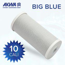 Wkład węglowy filtra do wody 10 cali Big Blue węgiel spiekany