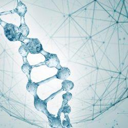 DNA wody 3d