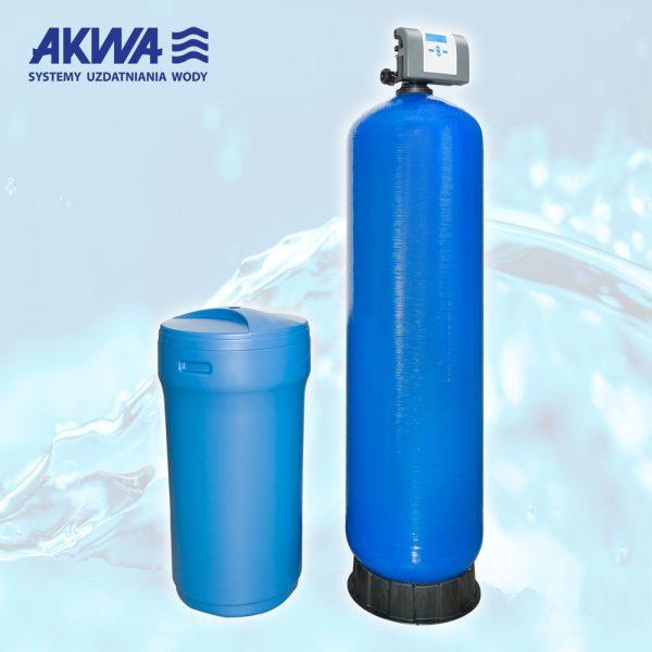 Dwuelementowy zmiękczacz wody Clack PL DUO przyłącze 2 cale 200-500 litrów