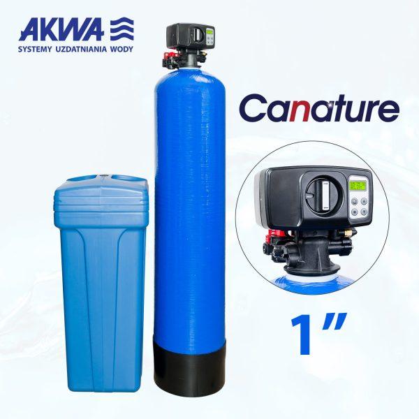 Dwuelementowy zmiękczacz wody BNT DUO przyłącze 1 cal
