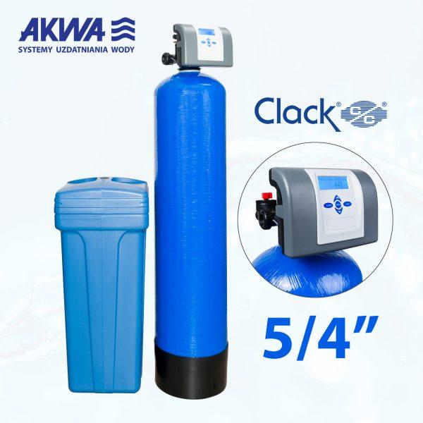 Dwuelementowy zmiękczacz wody Clack PL DUO przyłącze 5/4 cala