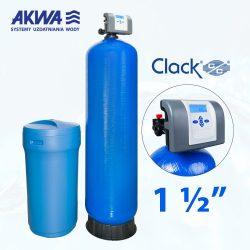 Dwuelementowy zmiękczacz wody Clack PL DUO przyłącze 1 1/2 cala