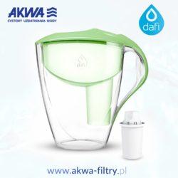 Dzbanek filtrujący Dafi ASTRA Unimax 3 litry seledynowy