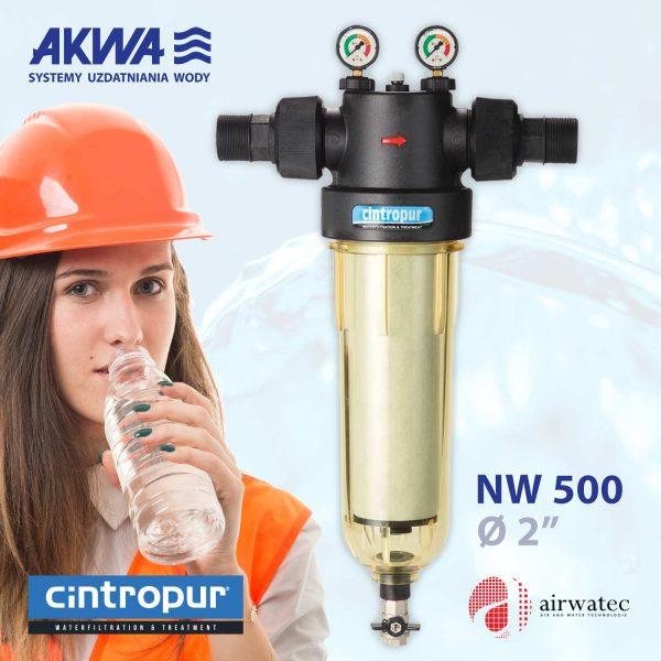 Profesjonalny filtr CINTROPUR NW 500 do wody