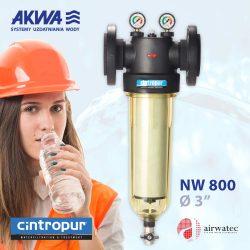 Filtr Cintropur NW 800 przemysłowy do wody dla Profesjonalistów