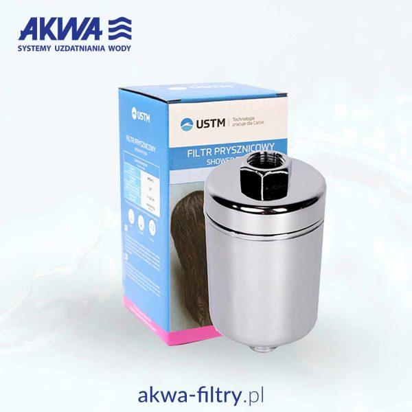 Filtr prysznicowy przyłącze 3/4 cala USTM gwint wewnętrzny WFSH-S