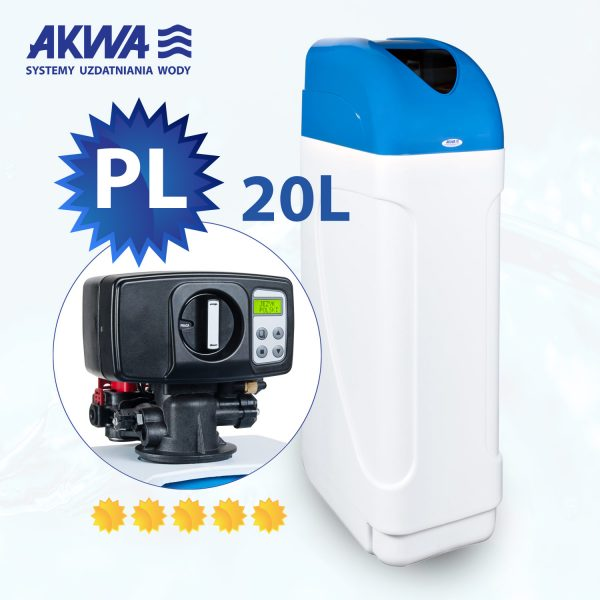 Kompaktowy zmiękczacz wody CSH Compact 20l BNT