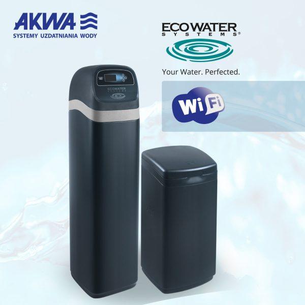 Kompaktowy Zmiękczacz Wody eVOLUTION 600 POWER WIFI Ecowater