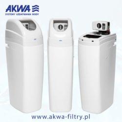 Kompaktowy zmiękczacz wody AKWA serii PROTECT BNT plus gratis dzbanek filtrujący Dafi