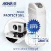 Kompaktowy zmiękczacz wody do domu AKWA PROTECT 30L BNT plus gratis dzbanek filtrujący Dafi