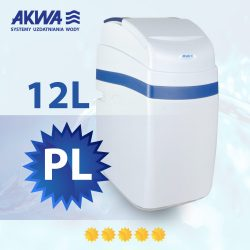 Kompaktowy zmiękczacz wody Slide Cover 12l PL AKWA Filtry