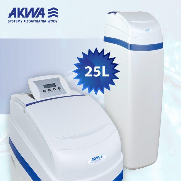 Kompaktowy zmiękczacz wody Slide Cover 25l EN