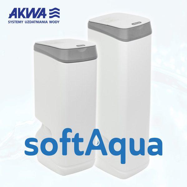 Kompaktowy zmiękczacz wody SoftAQUA 22 i 15 Ecowater USA