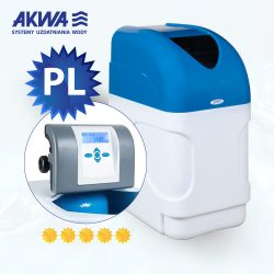 Kompaktowy zmiękczacz wody ZMWS Compact 12l Clack PL