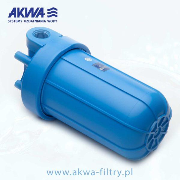 Korpus narurowy Big Blue 10 cali obudowa filtra do wody przyłącza 1 cal, 1 1/2 cala, 1 1/4 cala
