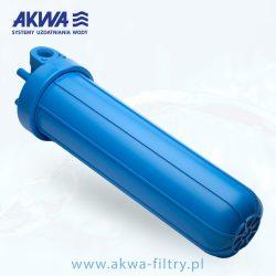 Korpus narurowy Big Blue 20 cali obudowa filtra do wody przyłącza 1 cal 1 1/2 cala 1 1/4 cala