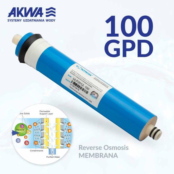 Membrana do systemu odwróconej osmozy RO 100 GAL