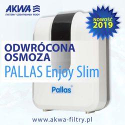 Odwrócona osmoza reverse osmosis urządzenie do uzdatniania wody na ścianę akwa pallas enjoy slim naścienna osmoza 5 stopniowa