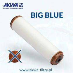 Wkład odżelaziający filtra do wody Big Blue 20 cali odżelaziacz