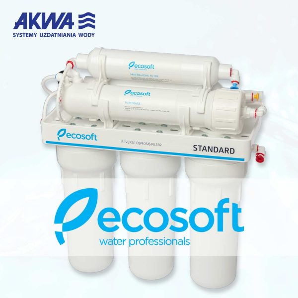 Pięciostopniowy System Odwróconej osmozy RO5 Ecosoft MO650MECOST