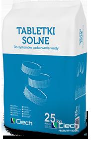 Sól tabletkowana Ciech worek 25 kg