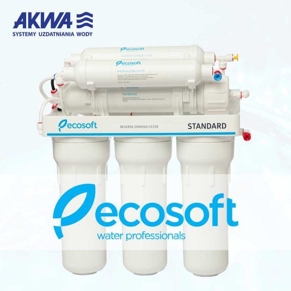Sześciostopniowy System Odwróconej osmozy RO6 Ecosoft