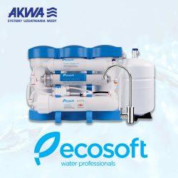 Szaściostopniowy system odwróconej osmozy RO6 Ecosoft Pure AquaCalcium