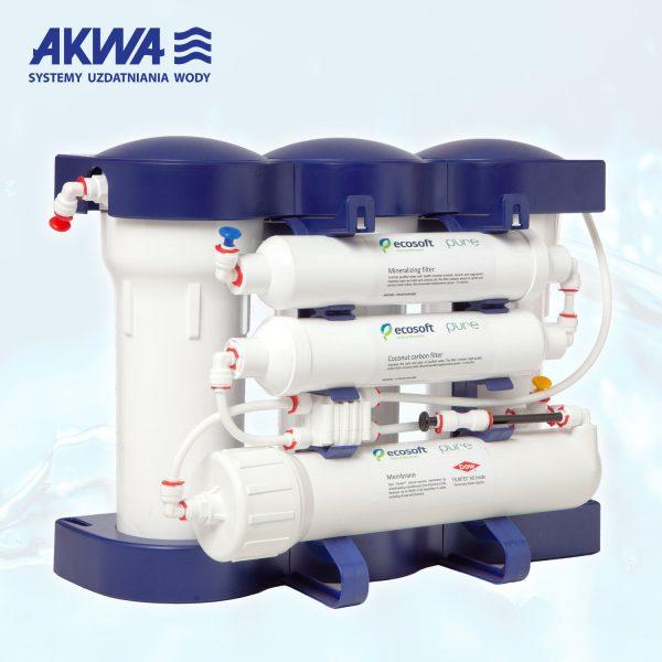 Sześciostopniowy System Odwróconej osmozy RO6 Ecosoft Pure, odwrócona osmoza