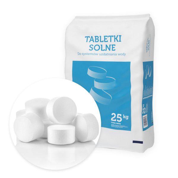 Sól tabletkowana ciech worek 25kh tabletki solne