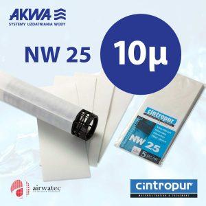 Wkład do filtra Cintropur NW25 10 mikronów Komplet 5 szt.