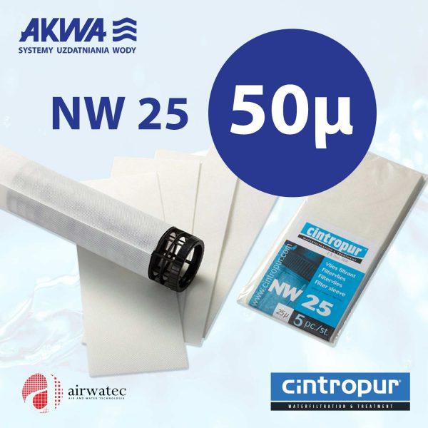 Wkład do filtra Cintropur NW25 50 mikronów Komplet 5 szt.