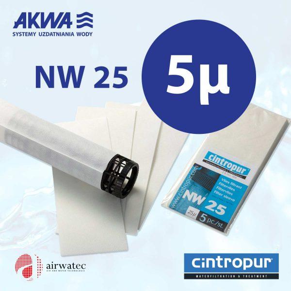 Wkład do filtra Cintropur NW25 5 mikronów Komplet 5 szt.