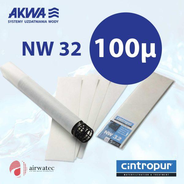 Wkład do filtra Cintropur NW32 100 mikronów Komplet 5 szt.