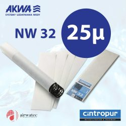 Wkład do filtra Cintropur NW32 25 mikronów Komplet 5 szt.
