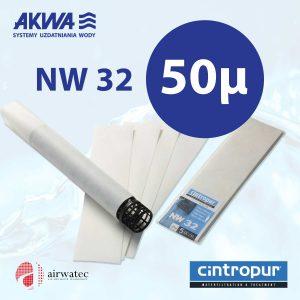 Wkład do filtra Cintropur NW32 50 mikronów Komplet 5 szt.