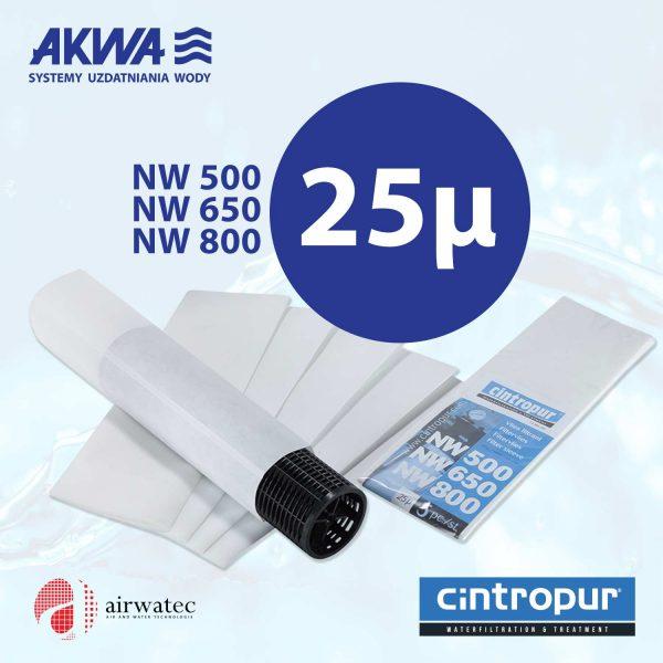 Wkład do filtra Cintropur NW500 NW650 NW800 25μ