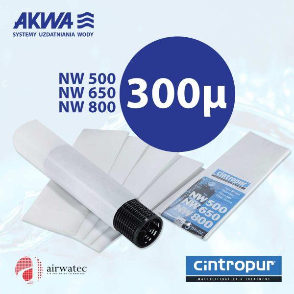 Wkład do filtra Cintropur NW500 NW650 NW800 300μ