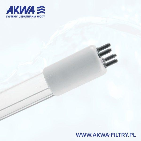 Żarnik do lampy UV, 4 pin, Świetlówka Ultrafioletowa, promiennik bakteriobójczy