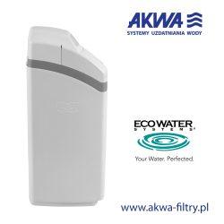 Kompaktowy zmiękczacz wody na cały dom COMFORT 500 EcoWater widok z lewego boku