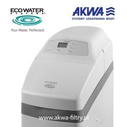 Kompaktowy zmiękczacz wody na cały dom COMFORT 500 EcoWater - przedni panel zarządzania sterownikiem